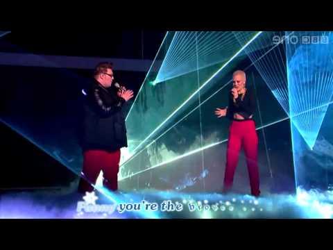 Jessie J - 'Stay' LYRICS (feat. Ash Morgan and Matt Henry) - The Voice UK