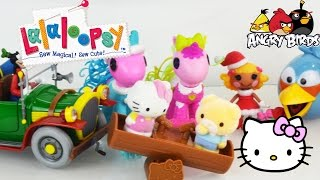 Lalaloopsy Ponies Angry Birds Hello Kitty Disney Toys Unboxing