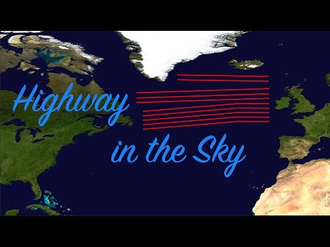 The Plane Highway In The Sky
