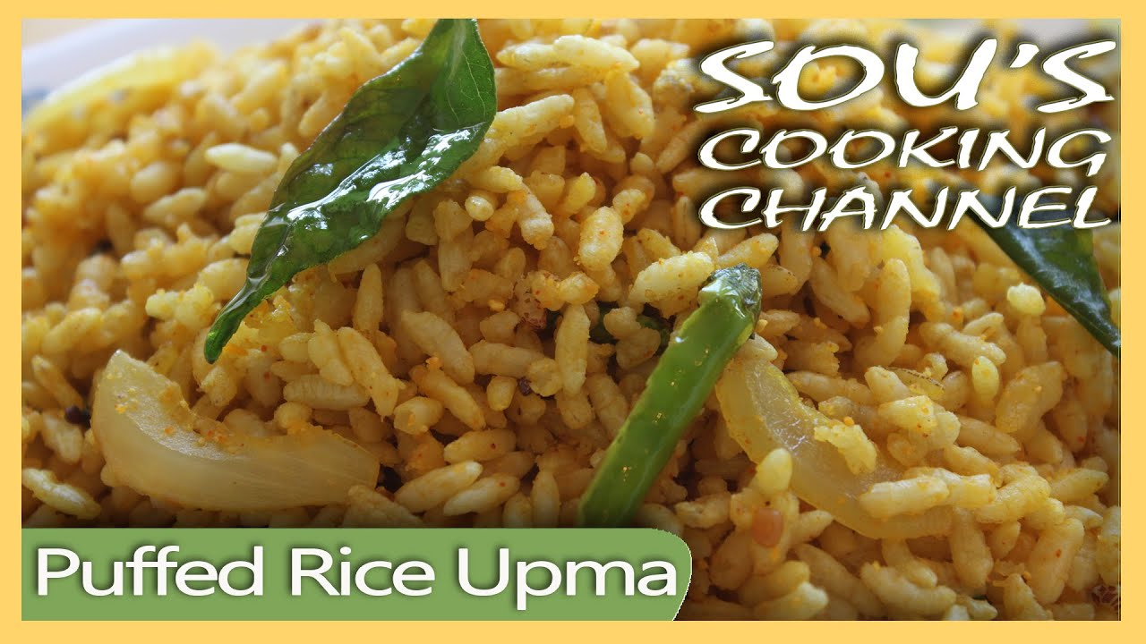 Puffed rice upma sous cooking channel youtube puffed rice upma sous cooking channel forumfinder Gallery