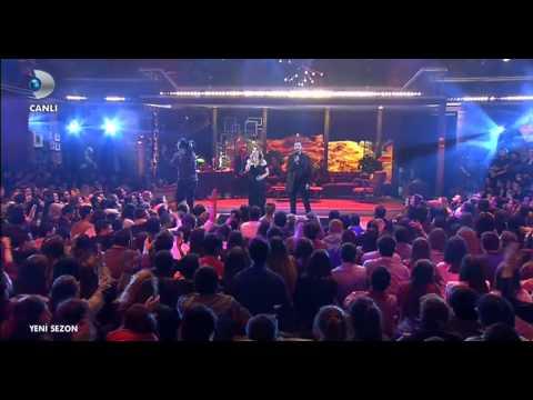 Yaren & Karlos   Yanarım Yanarım Düeti  Canlı  (Beyaz Show)