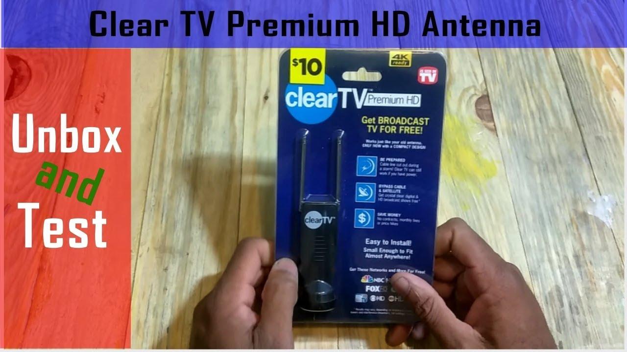 The $10 Clear TV Premium HDTV Antenna