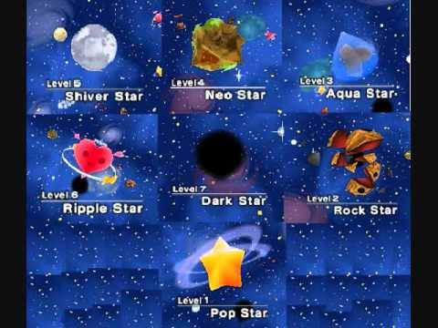 world map kirby 64