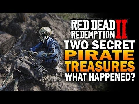 Secret PIRATE Treasures! What Happened? Red Dead Redemption 2 Secrets thumbnail