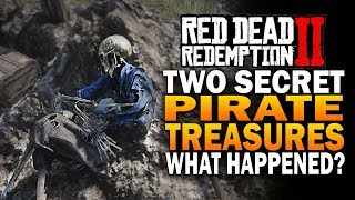 Secret PIRATE Treasures! What Happened? Red Dead Redemption 2 Secrets