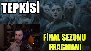WTCN GAME OF THRONES 8. SEZON YENİ FRAGMANI İzliyor !