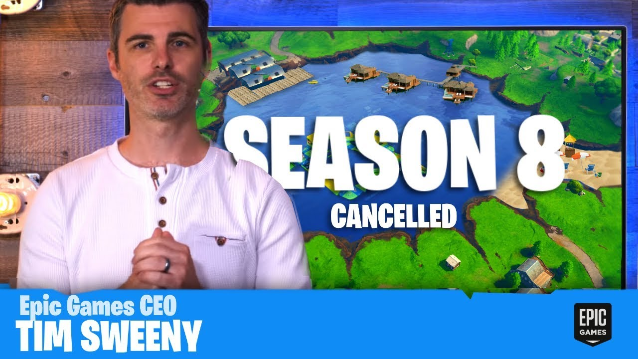 fortnite season 8 has been delayed youtube. Black Bedroom Furniture Sets. Home Design Ideas
