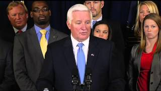 Governor Corbett Accuses NCAA of Illegal Sanctions against Penn State