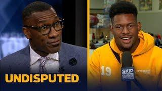 JuJu Smith-Schuster on Antonio Brown relationship & being named Steelers MVP | NFL | UNDISPUTED