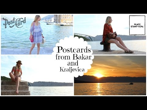 Postcards from Bakar and Kraljevica, Croatia
