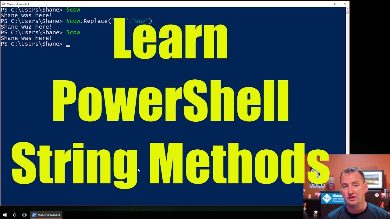 PowerShell String Manipulation