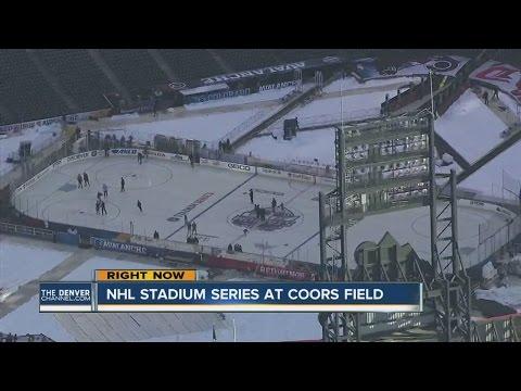 NHL Stadium Series kicks off tonight at Coors Field