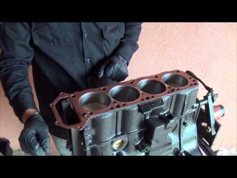 Reconstruccion de motor z24 NISSAN