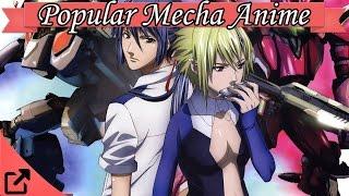 Top 10 Popular Mecha Anime 2016 (All the Time)