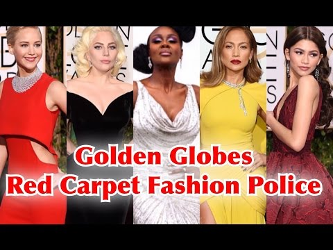 FUMI'S FASHION POLICE ON THE GOLDEN GLOBES BEST DRESSED 2016 RED CARPET REVIEW & DAVID BOWIE TRIBUTE