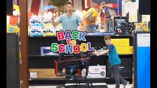 Back to School Shopping: ROBOT Style!