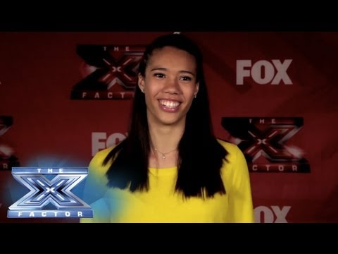 Yes, I Made It! Ashley Elion - THE X FACTOR USA 2013