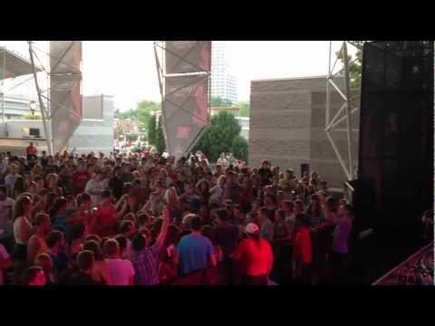 """Royal Teeth - """"Wild"""" @ Summerfest - Milwaukee, WI 7/6/12"""