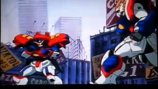 G Gundam OP 1 Flying in the Sky Karaoke Full