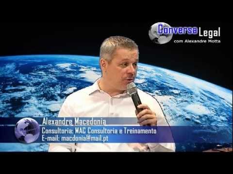 Planejamento e Gestão com Alexandre Macedonia no Conversa Legal - JustTV - 09/11/11