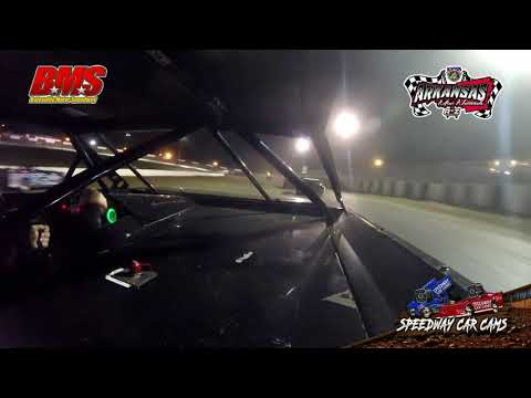 #2 Mike Minor - Kajun Mini Stock - 9-14-18 Batesville Motor Speedway - In Car Camera