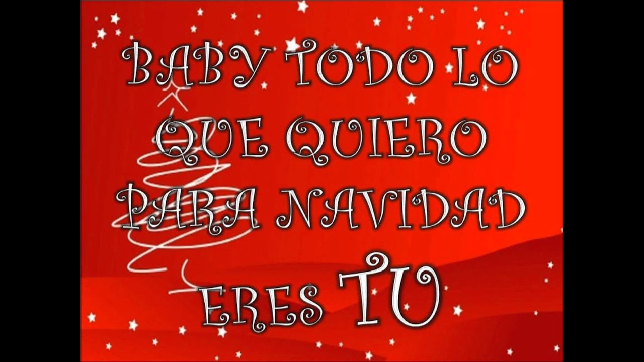 All i want for Christmas is You by My chemical Romance spanish ...