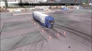 Scania Truck Driving Simulator - Estacionamento Paralelo [Convencional] Camera de TV HD
