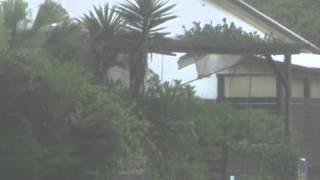 Typhoon Neoguri: Dramatic landslide sweeps through mountains in Japan