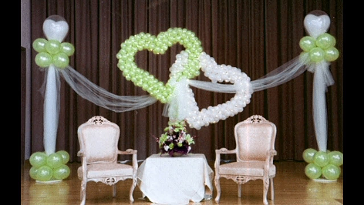 Stage Design Images Balloon Decoration For Wedding Birthday