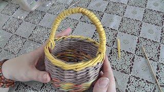 як зробити декоративну кошик