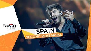 Blas Cantó - Voy A Quedarme - Second Rehearsal - Spain 🇪🇸 - Eurovision 2021