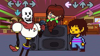 Friday Night Funkin Mod - VS Papyrus (Undertale)