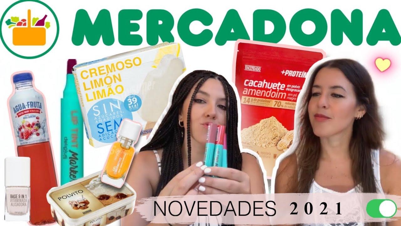 NOVEDADES MERCADONA (Deliplús, Hacendado...). Agosto 2021 🍦 | elcanalbe