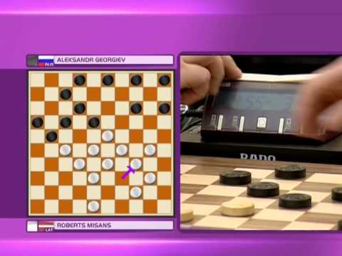 2012 World Mind Games - Draughts - Day 1