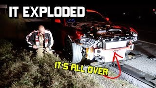 MY 2019 TWIN TURBO MUSTANG GT ENGINE EXPLODED ON FIRST DRIVE... IT'S ALL OVER