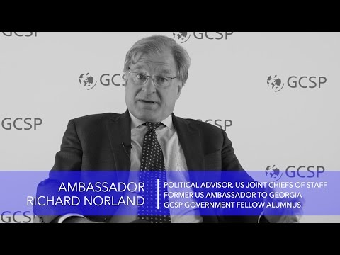 QA: Amb Richard Norland, political advisor to US Joint Chiefs of Staff
