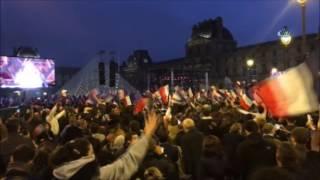 Fransa Cumhurbaşkanı Emmanuel Macron Oldu