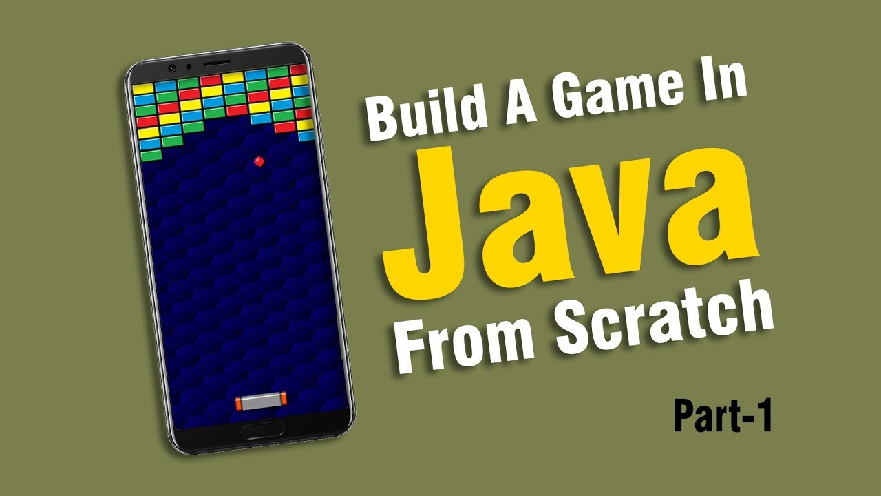 Creating A Brick Breaker Game in Java | Part 1 of 2 | Eduonix
