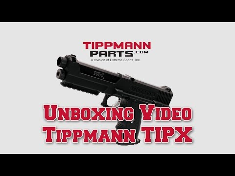 Tippmann TiPX Pistol Upgrades