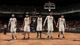 Self Taught vs KMT NBA 2k Comp Games XBOX vs PS4 TOURNAMENT