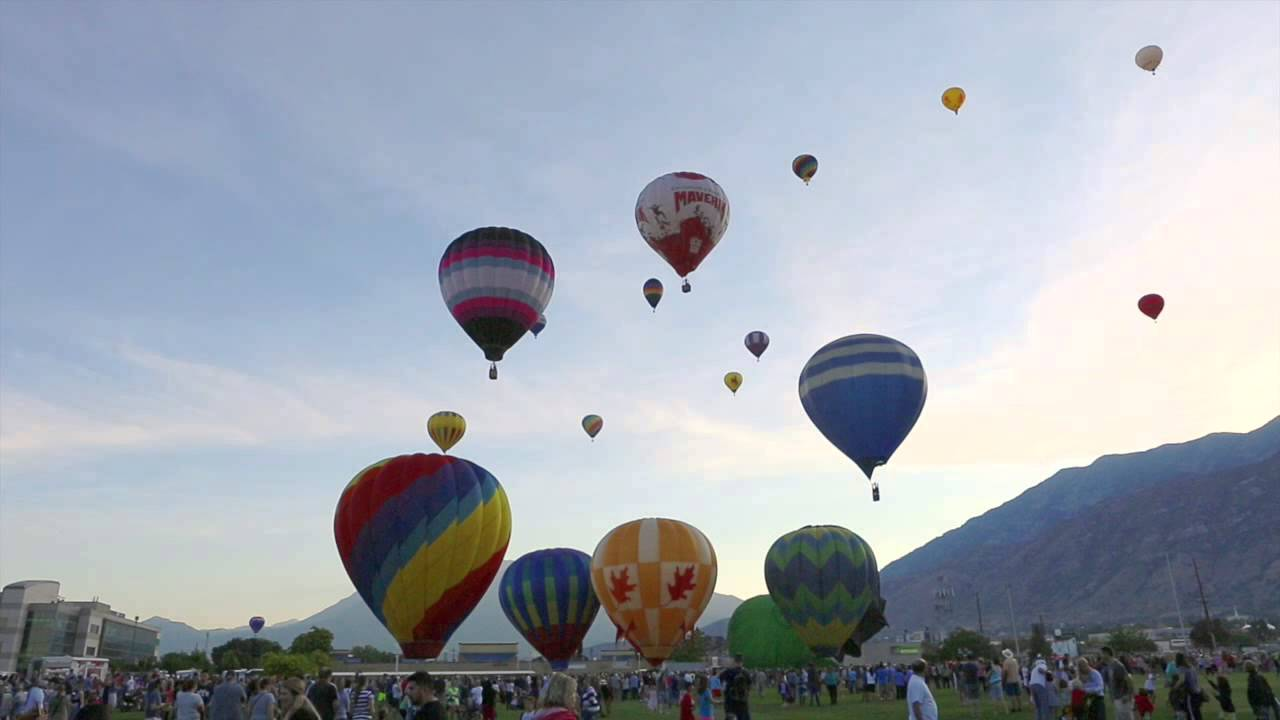 Provo Hot Air Balloon Festival - Time-Lapse Video - Youtube-3364
