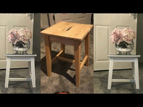 Upcycle Old To New | DIY Mirrored Furniture | DIY Recycle Old Furniture |  Old Into New On A Budget