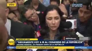 Heredia sale de Sala Penal Nacional RPP TV