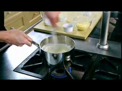 Chef Ramsay How to make a classic white sauce with cheese