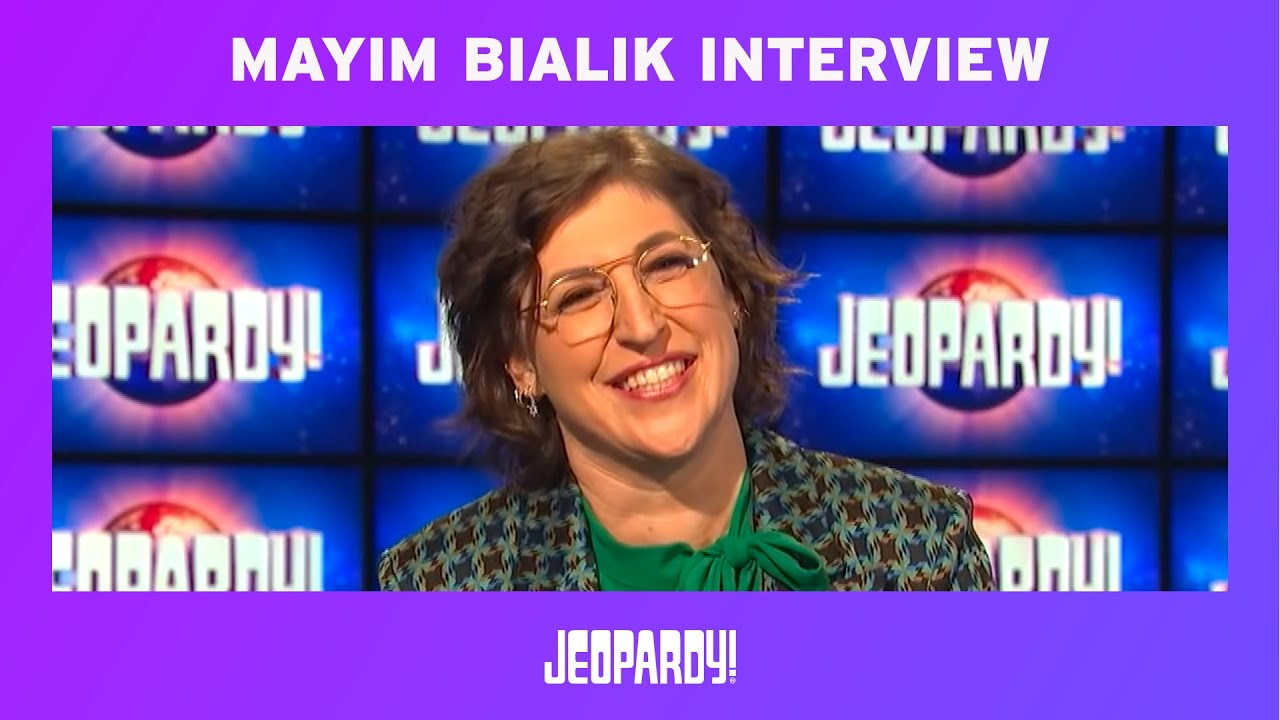 Mayim Bialik made her 'Jeopardy!' guest host debut