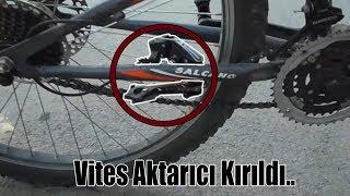 Edirne-Havsa Bisiklet İle Gittik l Vites Aktarıcı Kırıldı Yolda Kaldık
