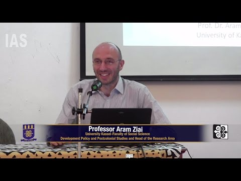 Prof Aram Ziai: Welcome to Zhengistan