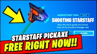 How To GET the Shooting StarStaff Pickaxe FOR FREE - Fortnite Mega Drop Event #FortniteMegaDrop