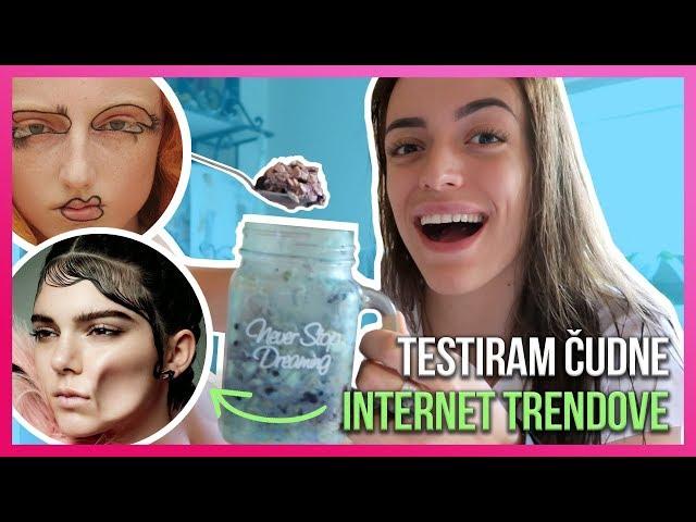 Testiram čudne internet trendove 6