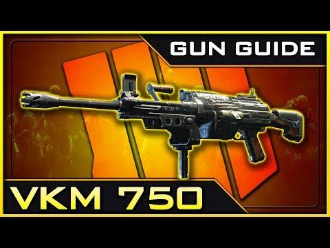 VKM 750 Stats & Best Class Setups!   Black Ops 4 Gun Guide #11